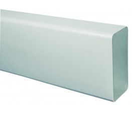 TECSY-AIR TEC400-1 OPTIMO 125 tubo rectangular 150x70 1m bl.