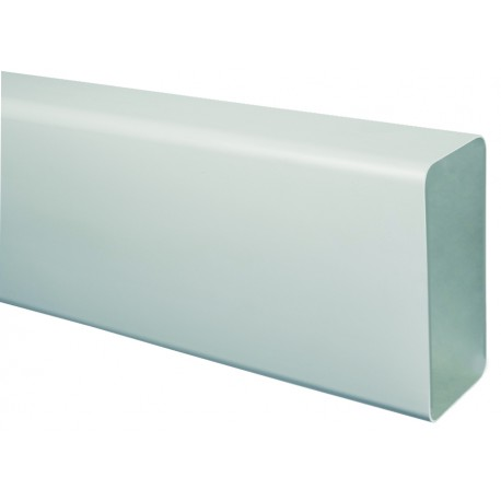 TECSY-AIR TEC400-1 OPTIMO 125 tubo rectangular 150x70 1m bl.