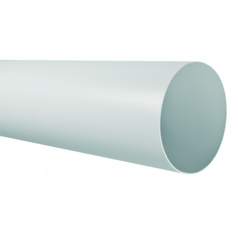 TECSY-AIR TEC401-1 OPTIMO 125 tubo redondo  ø 125 1m bl.