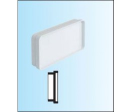 TECSY-AIR TEC480 OPTIMO 125 tapa universal para tubo y accessorios 150x70